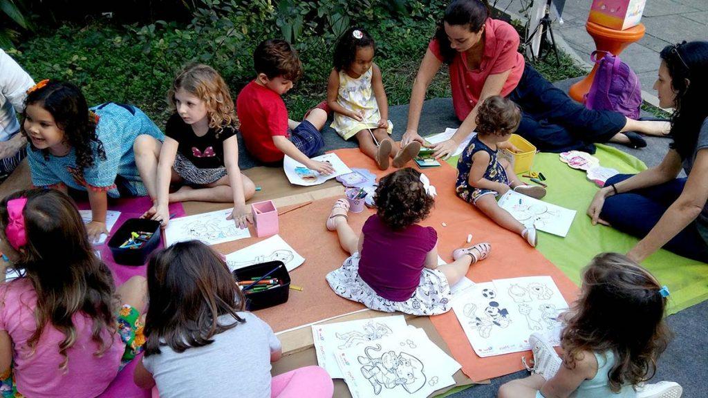 Arte para criança crianças desenhando