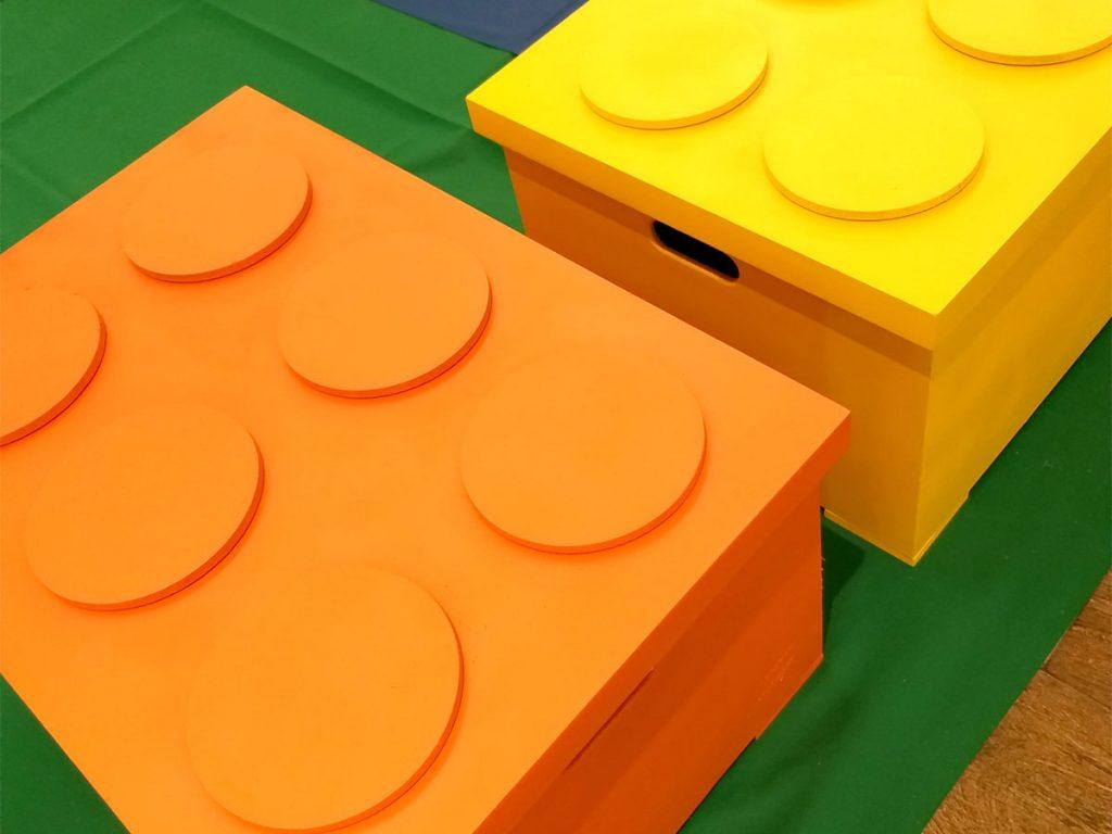 caixa de lego
