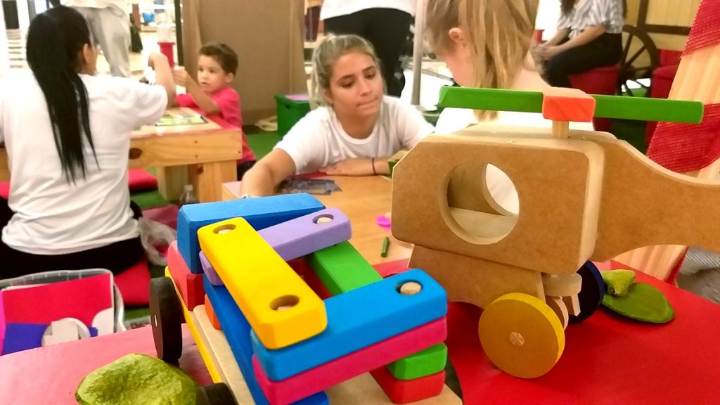 Natal para criançasbrinquedos de madeira
