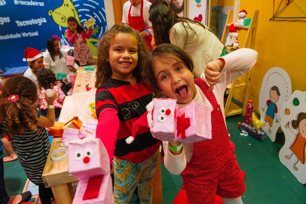 criatividade e alegria meninas
