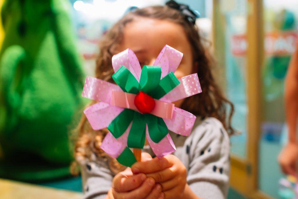 mês das crianças flores