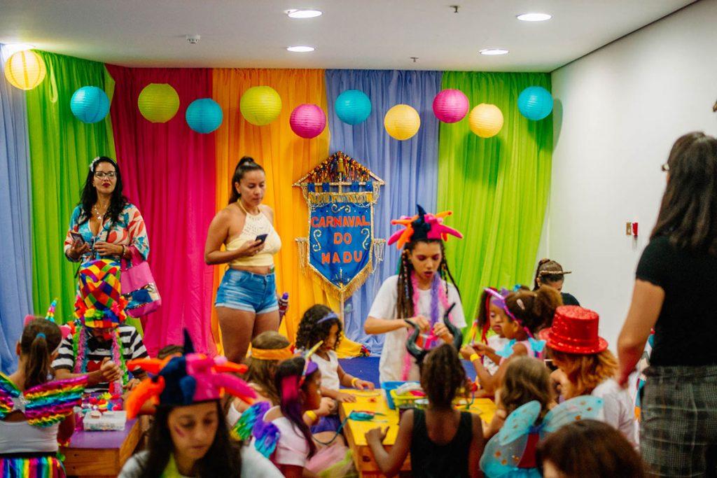 bloco infantil crianças